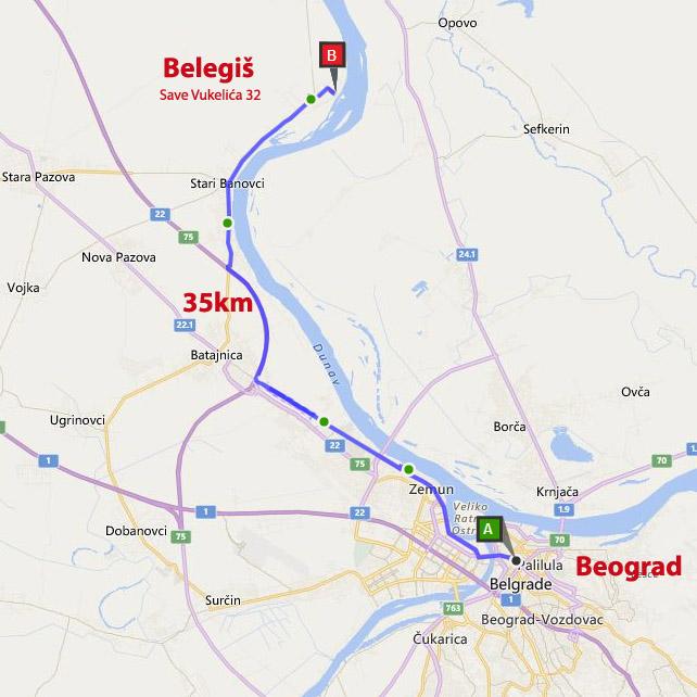 Dream Danube Home Mapa
